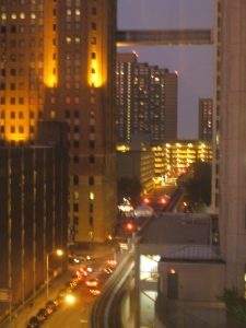 view from floor 9 of The Rivierside