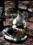 And on the seventh day, the sousaphone rested.