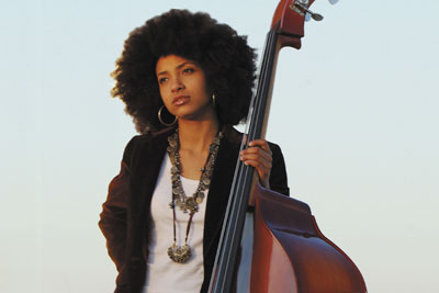 Esperanza Spalding (photo by the Discover Jazz Festival)