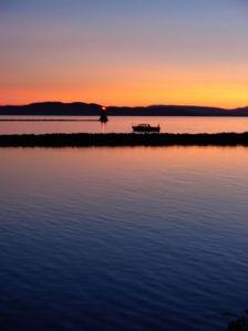 Champlain sunset