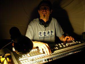 Arnaud, Oumou's cool audio engineer