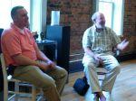 Festival Executive Director Tim Riddle &Oboist Marc Schachman