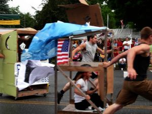 the annual Bristol outhouse races: go, go, GO!!!
