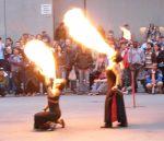 hot street performers