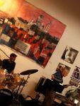 at the Silverman studio