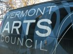VT Arts Council van