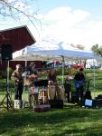 the Willoughbys at the Stowe farmer's market